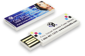Spectrum™ full color printed promotional USB Flash Drive.